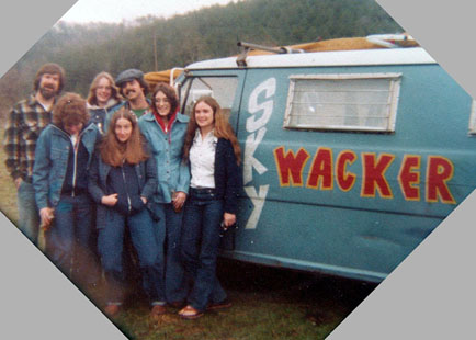 Skywackers at Clinch Mountain Fly-In - 1977