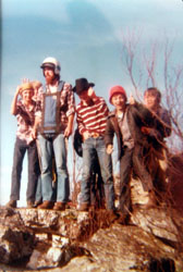 Randy at High Rock - 1978
